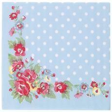 Folk Flowers Paper Napkin