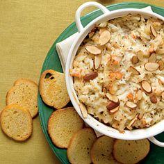 30 Mouth-Watering Crab Recipes   Hot Crab and Shrimp Dip   CoastalLiving.com