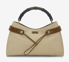 Gucci Beige And Brown Shoulder Bag