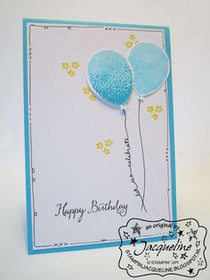Stampin' Up! by Stampin Jacqueline: Balloon Celebration, deel 1