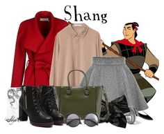 """""""Shang - Winter - Disney's Mulan"""" by rubytyra ❤ liked on Polyvore featuring BGN, MANGO, John Hardy, Charles Jourdan, Wood Wood, women's clothing, women, female, woman and misses"""