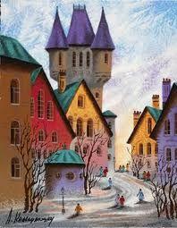 Russian artist Anatole Krasnyansky.