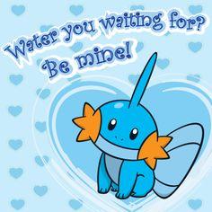 Pokémon Valentine's Day #water