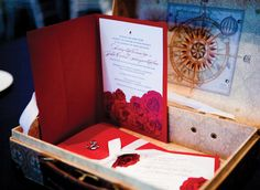 Gorgeous invitations by Palettera; Photography courtesy of 5ive15teen Photo Company.