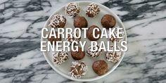 Carrot Cake Energy Balls | BeachbodyBlog.com