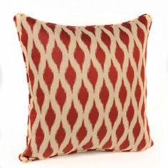 Red Dillon Accent Pillow | Kirkland's Bedroom