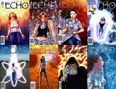 Hay que leer Echo, o directamente a Terry Moore, por cómo desarrolla los personajes femeninos, por la capacidad que tiene de narrar con ambientes, por la capacidad que tiene de hacernos empatizar con sus protagonistas.