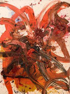 "Kazuo Shiraga, ""Composition T55"", Japan, 1962. Photo courtesy Axel Vervoordt"