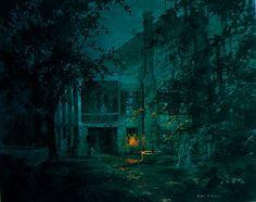 "Robert Rucker ""Ghostly Manor""    Pineapple Gallery"