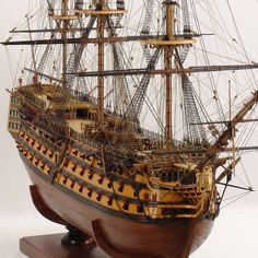 model ship--as close to the Nikita I could find (which I'll admit isn't extraordinarily close)