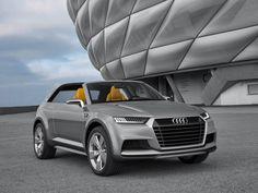Audi crosslane targa concept