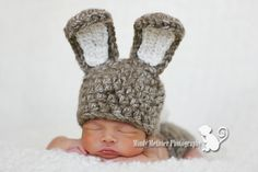 Sweet Love Creates — Baby Cotton Tail Bunny Set
