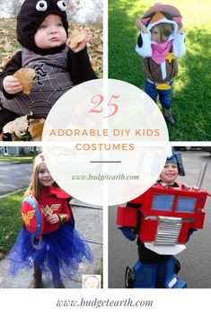 Are you wanting to make Halloween costumes for your children this year? Check out these 25 Adorable DIY Kids Costumes here! Handmade Halloween Costumes, Scary Halloween, Halloween Crafts, Halloween Themes, Halloween Stuff, Diy Crafts For Adults, Diy Crafts To Sell, Diy For Kids, Diy Crafts Hacks