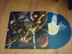 MOTORHEAD - Bomber - UK BLUE VINYL LP - BRONZE Heavy Metal, Lp, Bronze, Ebay, Heavy Metal Music