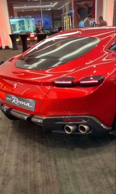 Ferrari Roma 2020 Luxury Cars, Classic Cars, Sports Car, Best Luxury Suv and Exotic Cars Cool Sports Cars, Super Sport Cars, Cool Cars, Top Luxury Cars, Luxury Sports Cars, Exotic Sports Cars, Lamborghini Cars, Ferrari Car, Carros Ferrari