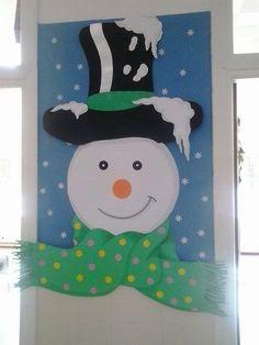 Carnival Decorations, School Door Decorations, Outside Christmas Decorations, Christmas Classroom Door, Classroom Decor, Christmas Crafts, Christmas Ornaments, Preschool Door, Animal Art Projects