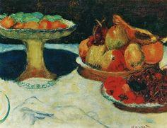 Coupe de fruits, 1923, Paris, collection Bernheim-Jeune, Pierre Bonnard