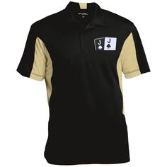 Colorblock Performance Polo (Js Jc on front)