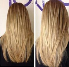 Long hair with layers LOVE!!