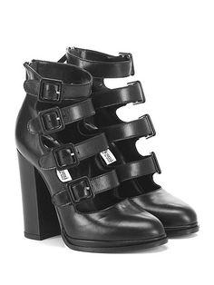 Giampaolo Viozzi - Scarpa con tacco - Donna - Scarpa con tacco in pelle con…