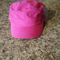 Cute pink Adidas hat womens Pink hat by adidas. Worn 1 time Adidas Accessories Hats