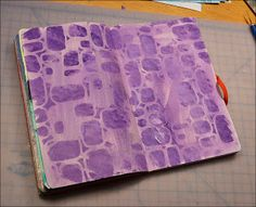 About once a month, Beth and I exchange Moleskin journals.  We were paired together from one of my online art journal groups last Fall and i...