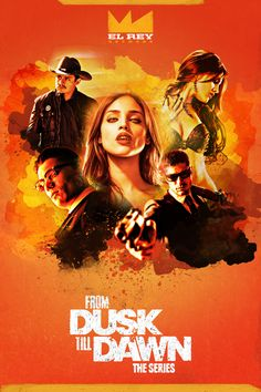 From Dusk Till Dawn: The Series Poster on Behance