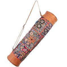 Leather Yoga Bag - Banjara Gypsy Tribal by JalWalla on Etsy https://www.etsy.com/listing/195098150/leather-yoga-bag-banjara-gypsy-tribal