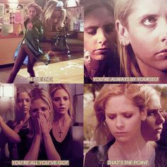 Becoming. I think this is the episode Buffy lost the last of her innocence, and would never get it back.