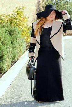 Curveella: Pretty Classy Cashmerecurveella,plus size,plus size fashion, plus size fashion blogger, fashion blogger, blogger,fashion stylist, style, stylist,fashion inspiration,curvy,curvy fashion, ootd, outfits, lookbook, inspiration,ootn, psblogger, maxi dress,cashmere, floppy hat ,hat,fall,fall fashionn, winter