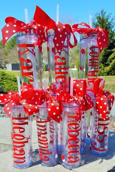Items similar to 6 Personalized Cheerleader Tumblers with straw - Banquet Gifts, football, coaches, cheerleaders, gymnastics 16 oz BPA Free Tumbler on Etsy Cheerleading Gifts, Cheer Gifts, Team Gifts, Cheerleader Gift, Coach Gifts, Personalized Tumblers, Personalized Wedding, Personalized Gifts, Vinyl Tumblers