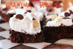 Pint Sized Baker: Grandma's Brownies