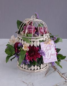 Floral Thanks Butterfly Birdcage Pink Happy Birthday, Happy Birthday Candles, Happy Birthday Balloons, Lucky To Have You, Owl Always Love You, 18 Candles, 21 Balloons, Star Candle, Lilac Roses