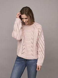 Magnum sweater, strikkeopskrift – oenling.com