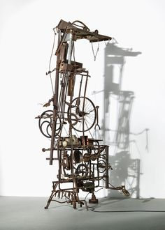 Jean Tinguely Kinetic Sculpture 1000 Ideas About Jean Tinguely - - jpeg Modern Sculpture, Abstract Sculpture, Wood Sculpture, Jean Tinguely, Lisson Gallery, Mechanical Art, Alexander Calder, Art Nouveau, Kinetic Art
