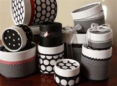 Cajas Hat Boxes, Jewelry Organization, Ideas Para, Ladybug, Decoupage, Recycling, Projects To Try, Decorative Boxes, Crafts