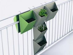 Rephorm, Vert Vert, Gärtnern ohen Garten auf dem Balkon
