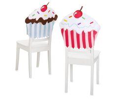 cupcakes möbel designs essstühle weiß holz rücklehne