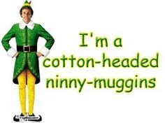 buddy the elf quotes Famous Christmas Movies, Christmas Movie Quotes, Buddy The Elf Quotes, Cotton Headed Ninny Muggins, Elf Movie, Movie Lines, Christmas Elf, Christmas Crafts, Xmas