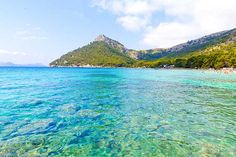 Turquoise Waters of Andratx Port, Mallorca, Spain