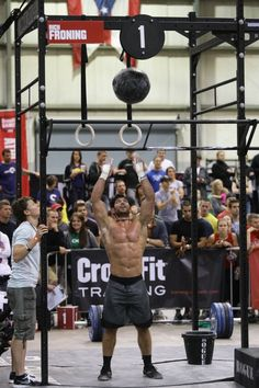 Check out Rich Froning Jr physical stats - he is awesome