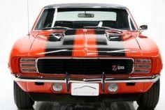 1969Z28Camaro.com 1969 Camaro Z28 Orange w/black stripes