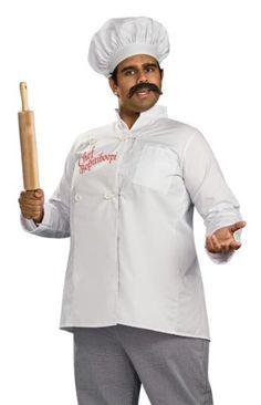 Men's Chef or Cooks Halloween Costumes