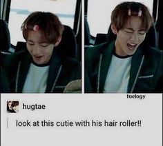 Oh Taehyung never change alright