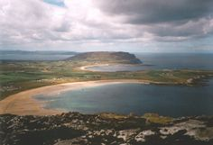 The beautiful coastline of north County Donegal