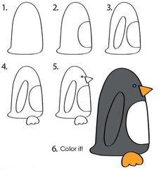 como-dibujar-pinguinos