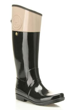 """Or these Hunter 'Regent Carlyle"""" Rain Boot.  Available at Nordstrom."""