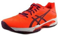 Asics Gel-solution Speed 3 Women Round Toe Synthetic Pink Running Shoe.