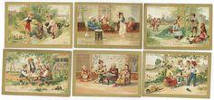 CHROMOS BON MARCHÉ - 1884/1884 - LES BOISSONS. Série complète des 6 chromos - Eau,[...] | Auction.fr