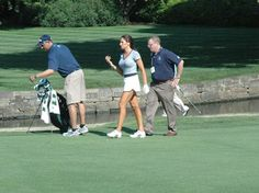 Golf Channel personality Holly Sonders